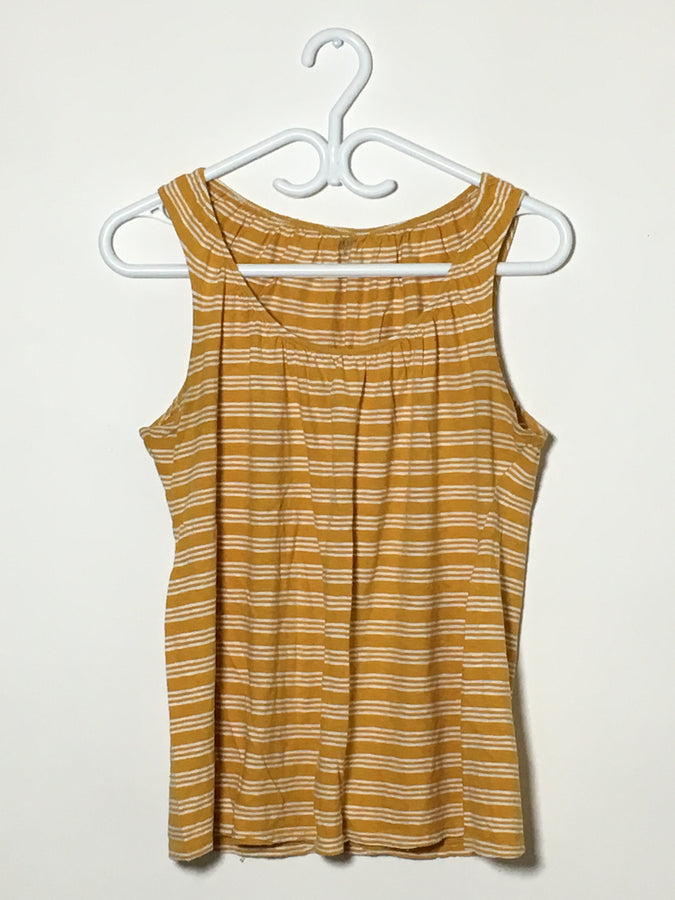 Yellow Stripe Nursing Tank