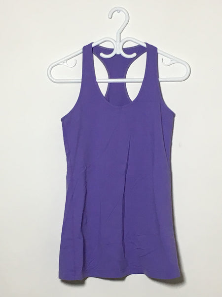 Purple Exercise Tank