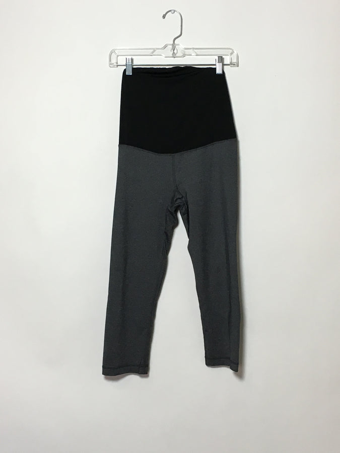 Grey Crop Legging (1)
