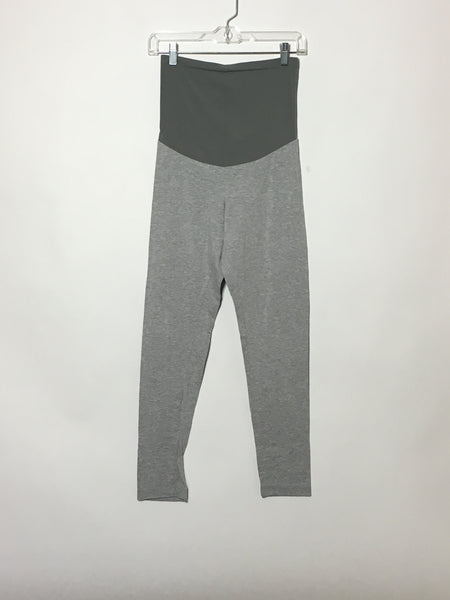 Light Grey Crop Legging (1)