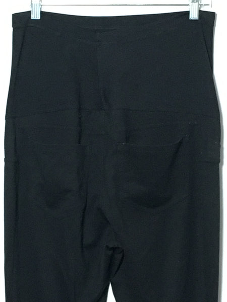 Black Crop Dress Pant