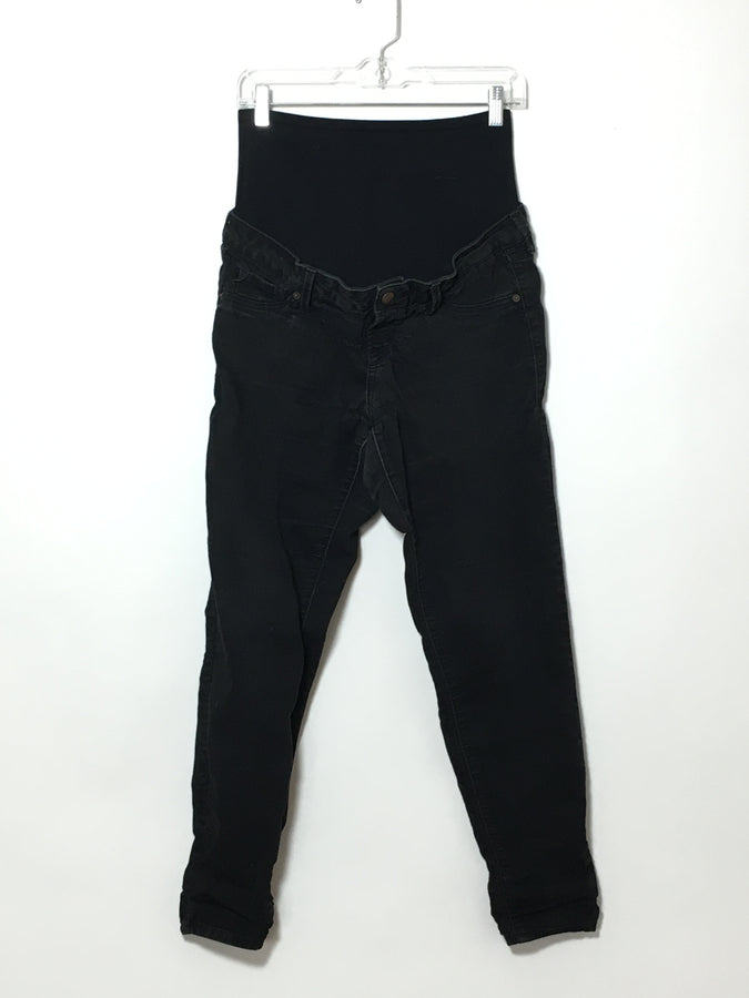 Black Faded Skinny Jean