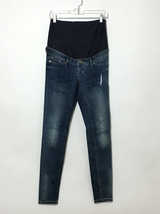 Dark, Distressed H&M Jeans