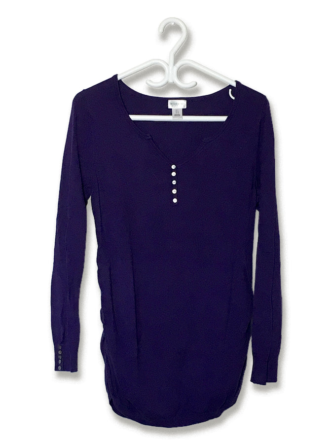 False-Button Longsleeve