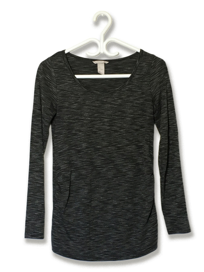 Knit Heather-Grey Longsleeve (3)