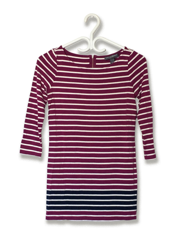 Striped Magenta Tunic