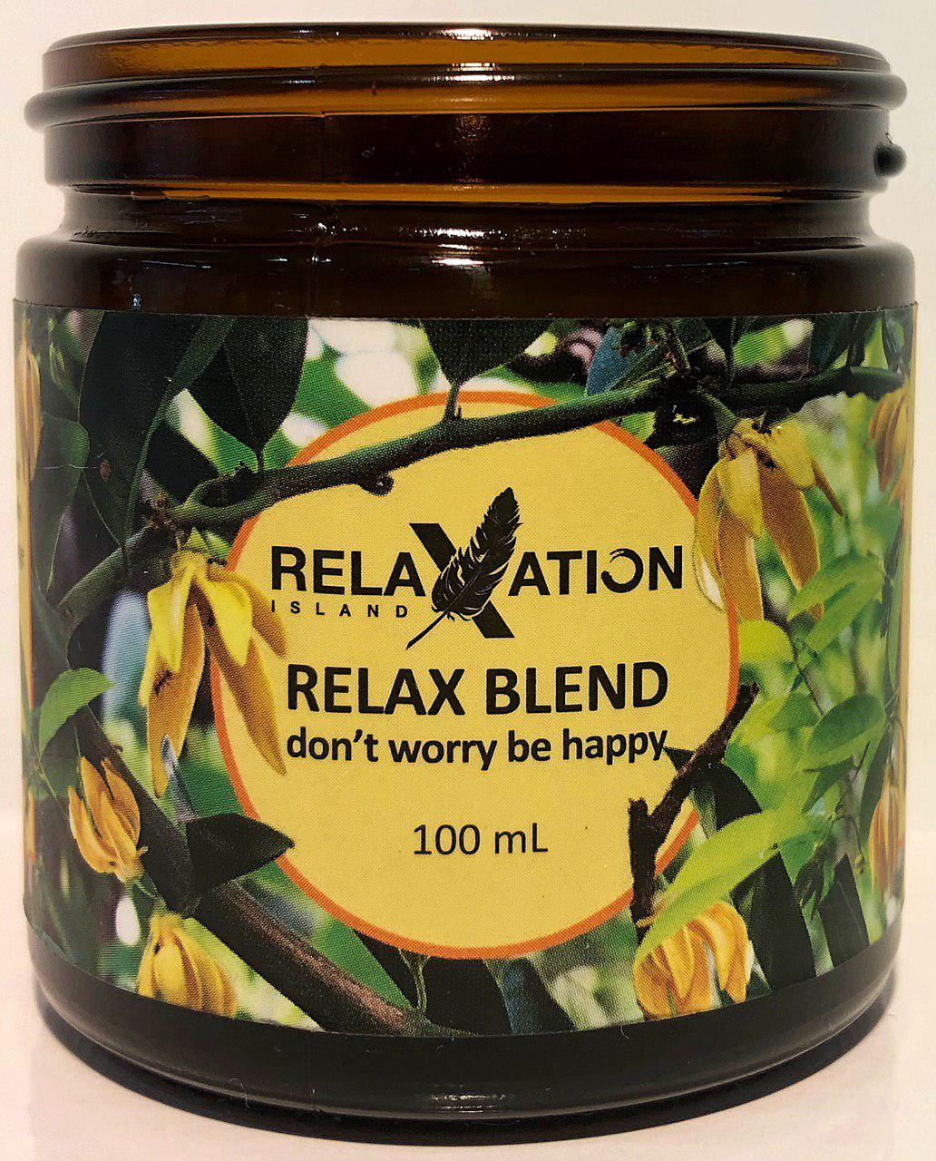 Relax Blend Jar Diffuser 100ml-Relaxation Island®