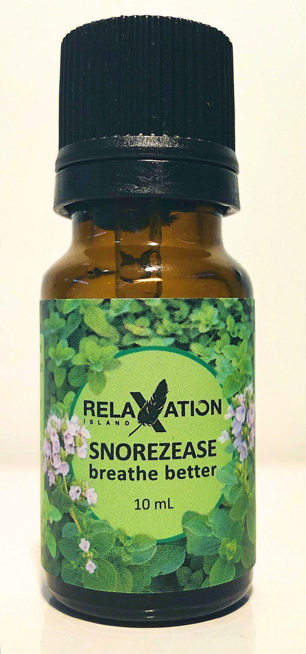Snorezease®-Stop Snoring- Breath Better- Pure Essential oil Blend 10ml-Relaxation Island®