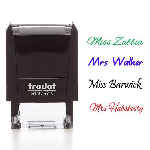 Name Stamp - iTeacherStuff