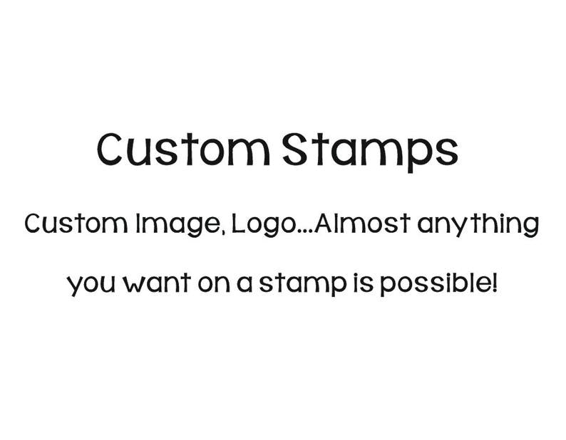 custom address stamp, custom business stamps, custom logo stamp