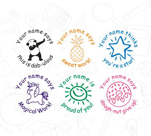Teacher Stamp Set - iTeacherStuff