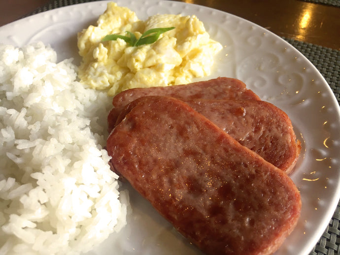 Spam Breakfast Meal