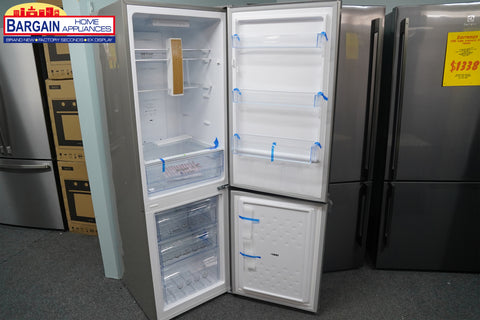 CHiQ CBM250S 251L Bottom Mount Silver Fridge