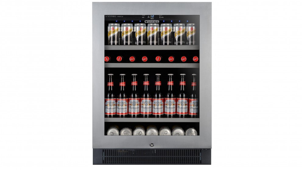 Vintec V40BVCS3 100 Bottle Beer & Wine Bar Fridge