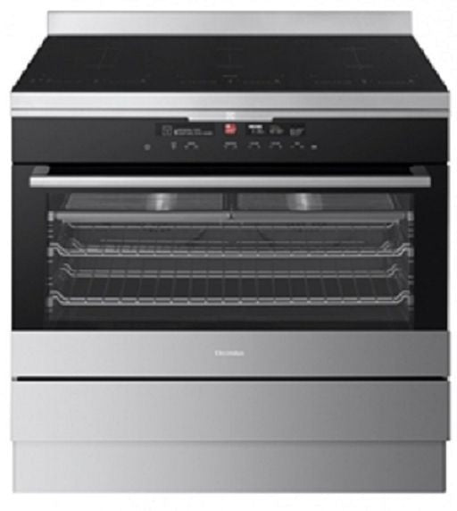 Electrolux EFE956BA 90Cm Freestanding Induction Cooktop Twin Fan Self Clean Oven - Bargain Home Appliances