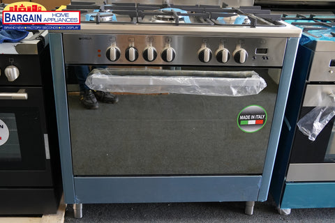 Emilia DI965EI4 Freestanding Dual Fuel Oven/Stove [Latest Model] W Flame Failure