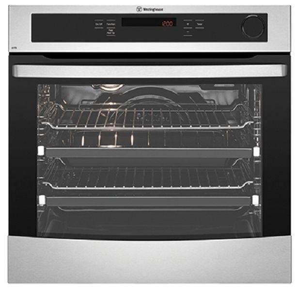 Westinghouse WVE617S 60cm Stainless Steel Electric Wall Oven - Bargain Home Appliances