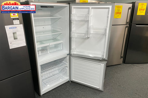 Husky HUS-529BMIX 529L Inverted Fridge/Freezer In Stainless Steel