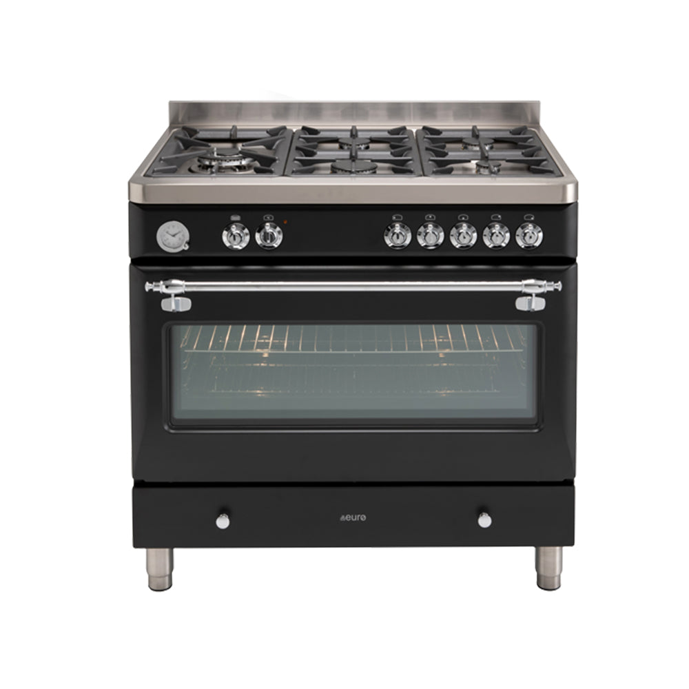 Euro ECSH900AN 90cm Royal Chiantishire Freestanding Dual Fuel Oven/Stove