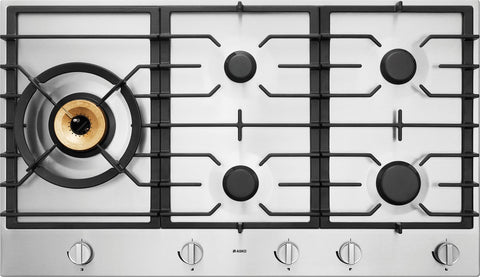 Asko HG1986SD 90cm Stainless Steel Gas Cooktop
