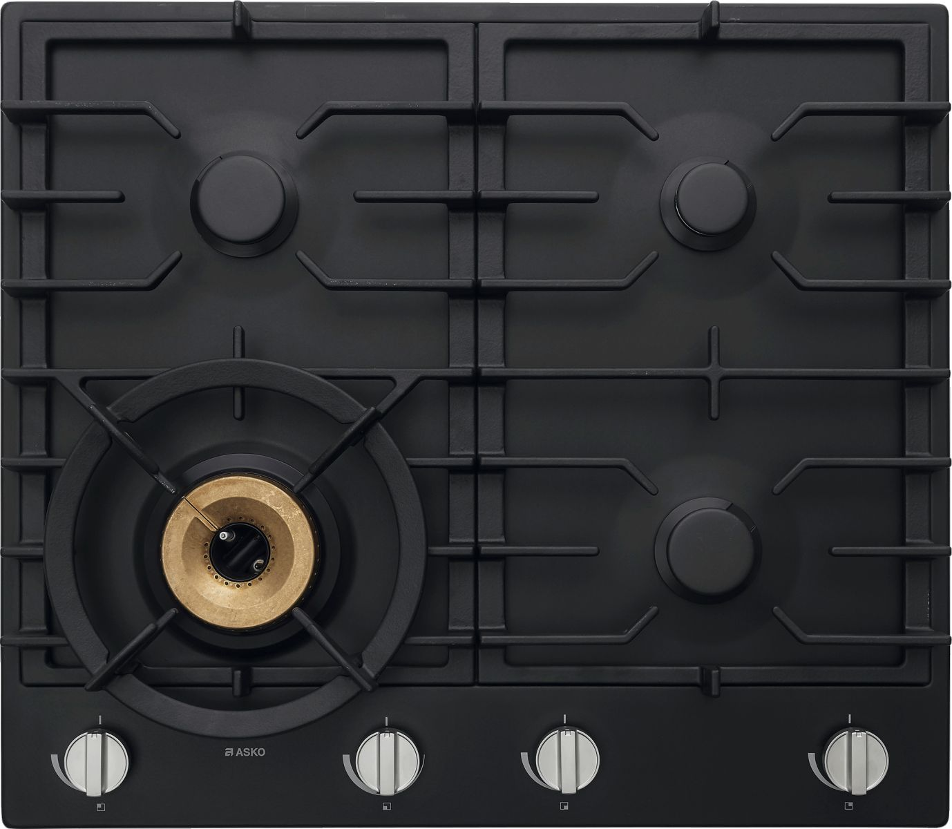 ASKO HG1666AD 60cm Gas Cooktop Anthracite