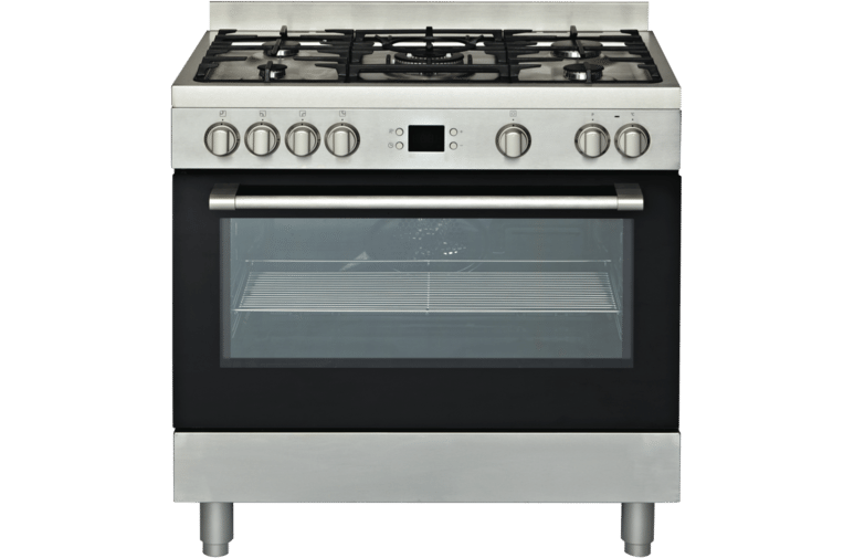 Euromaid PS90S 90cm/900mm Electric Oven + Gas Cooktop