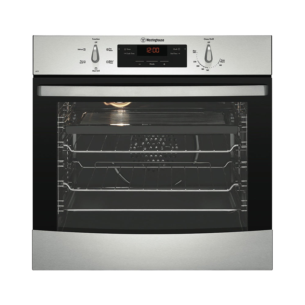 Westinghouse WVE615S 60Cm Electric Multifunction Single Oven