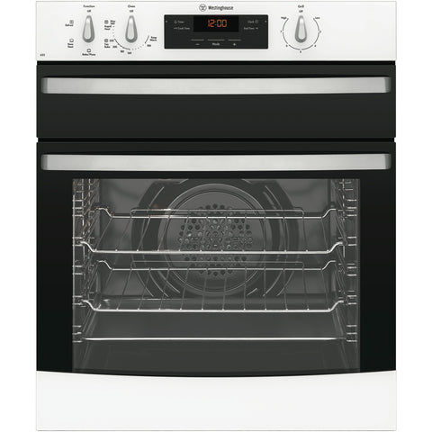 Westinghouse WVE655W 60cm Electric White Underbench Oven