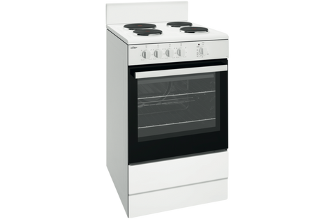 Chef CFE532WB 54cm White Freestanding Cooker