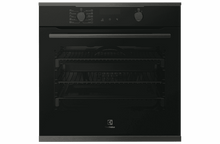 Load image into Gallery viewer, Electrolux EVEP614DSD 60cm Dark Single Pyrolytic Oven