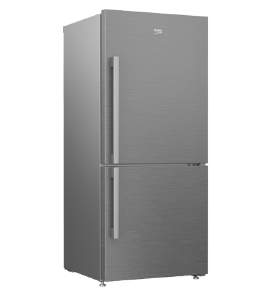 Beko CN151140ZX 505L S/Steel Bottom Mount Fridge
