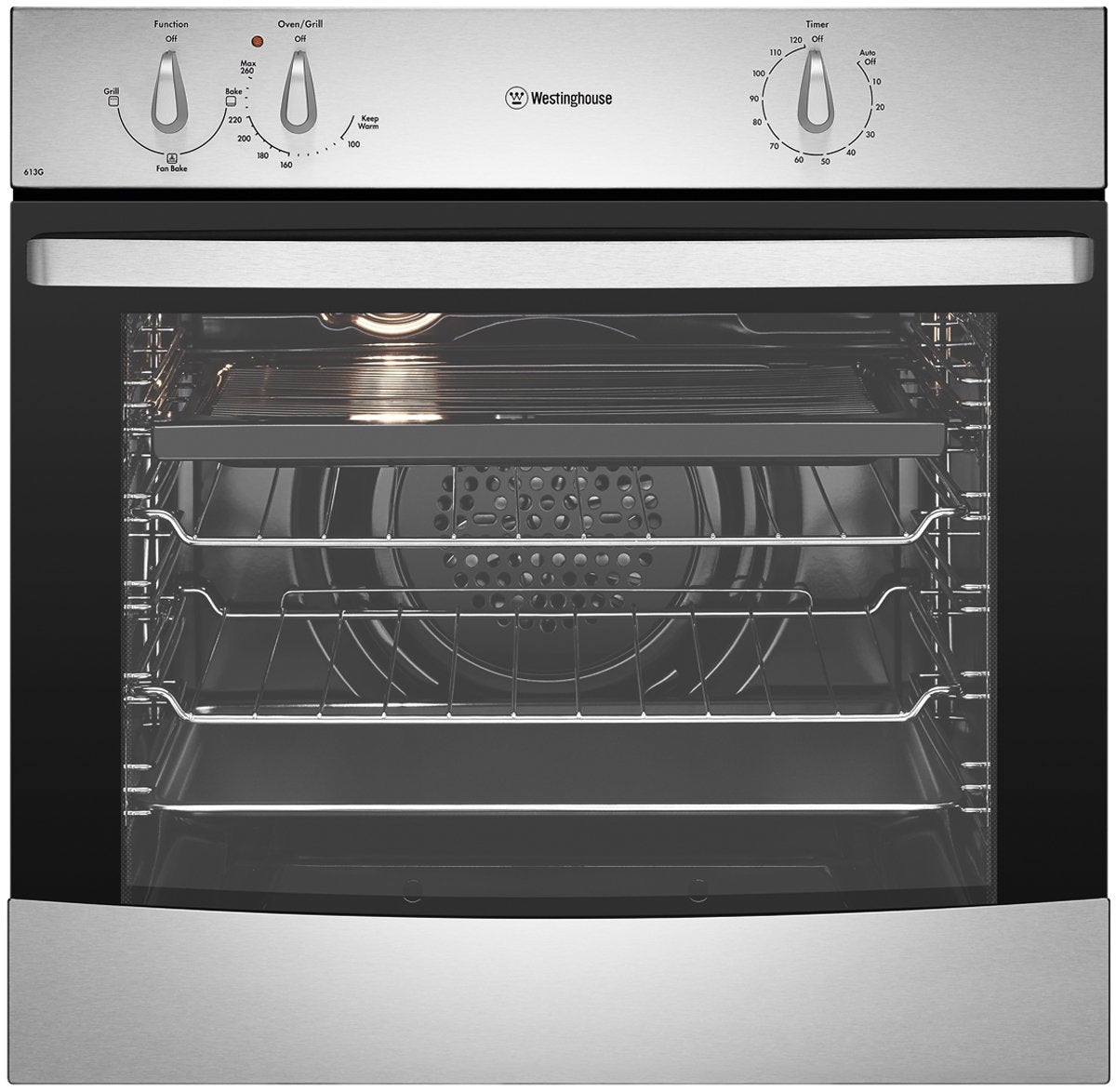 Westinghouse WVG613S 60cm Stainless Steel LP Wall Oven