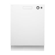 Asko D5436WH White Built-In Dishwasher
