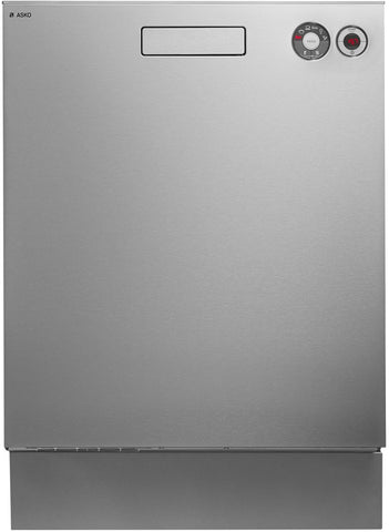 Asko D5424SS Stainless Steel Built-In Dishwasher