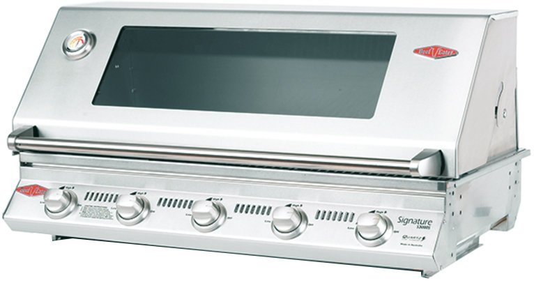 BeefEater Signature BS12350 3000S Flame Failure 5 Burner Built-In BBQ