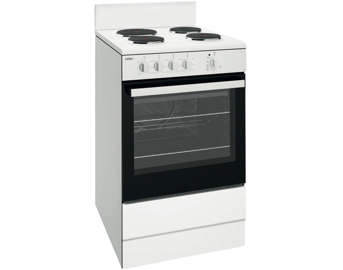 Chef CFE537WB 54cm White Freestanding Cooker