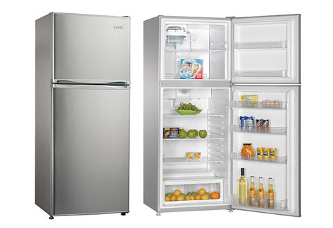 CHiQ CTM399S 400L Top Mount Stainless Steel Fridge