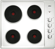 Chef CHS642SA Electric 4 Solid Element Cooktop - Bargain Home Appliances