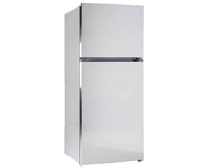 CHiQ CTM434S 435L Top Mount Stainless Steel Fridge