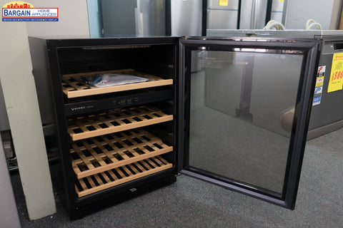 Vintec V40SG2EBK 40 Bottle Two Zone Wine Fridge
