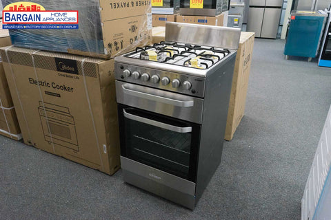 Chef CFG517SALP 54cm Freestanding LP Gas Cooker