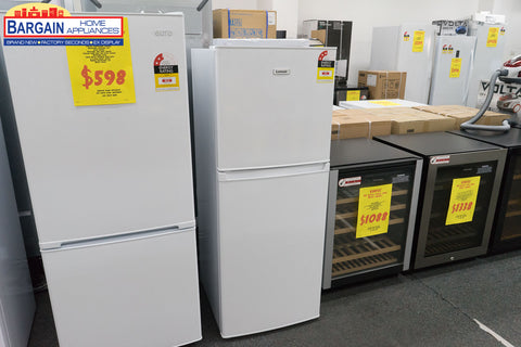 Lemair LTM221W 221L White Top Mount Fridge