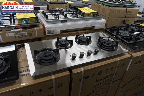 Goldline GL4SSNG 4 Burner NG Stainless Steel Cooktop