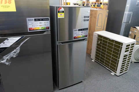 CHiQ CTM215S 216L Top Mount Stainless Steel Fridge
