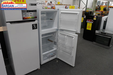 Teco TFF210WNTBM 210L Two Door Refrigerator
