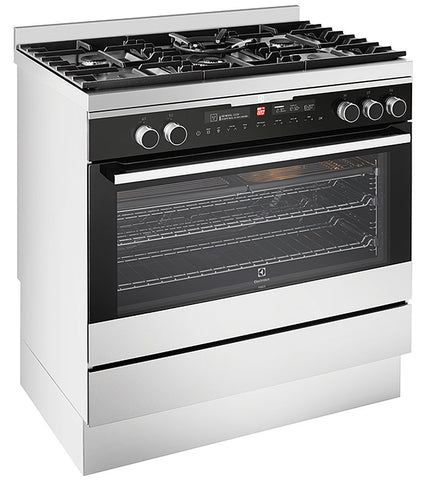 Electrolux EFEP915SB 90cm Stainless Steel Freestanding Cooker