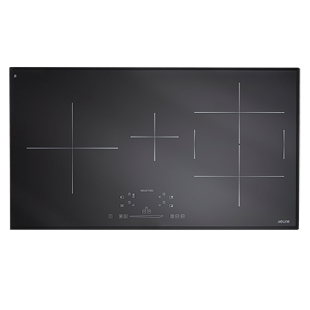 Euro ESINF90B 90cm Induction Cooktop