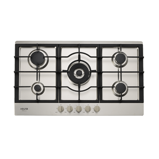 Euro Appliances EV90BGCSX 86cm Valencia Natural Gas Cooktop