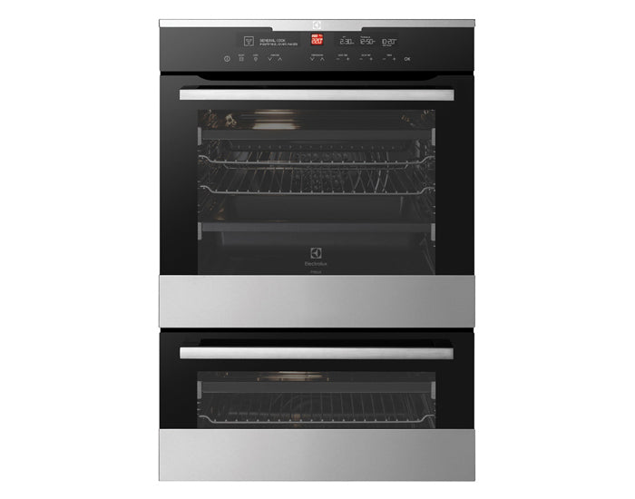 Electrolux EVEP627SC 60cm Pyrolytic Multifunction Duo Oven