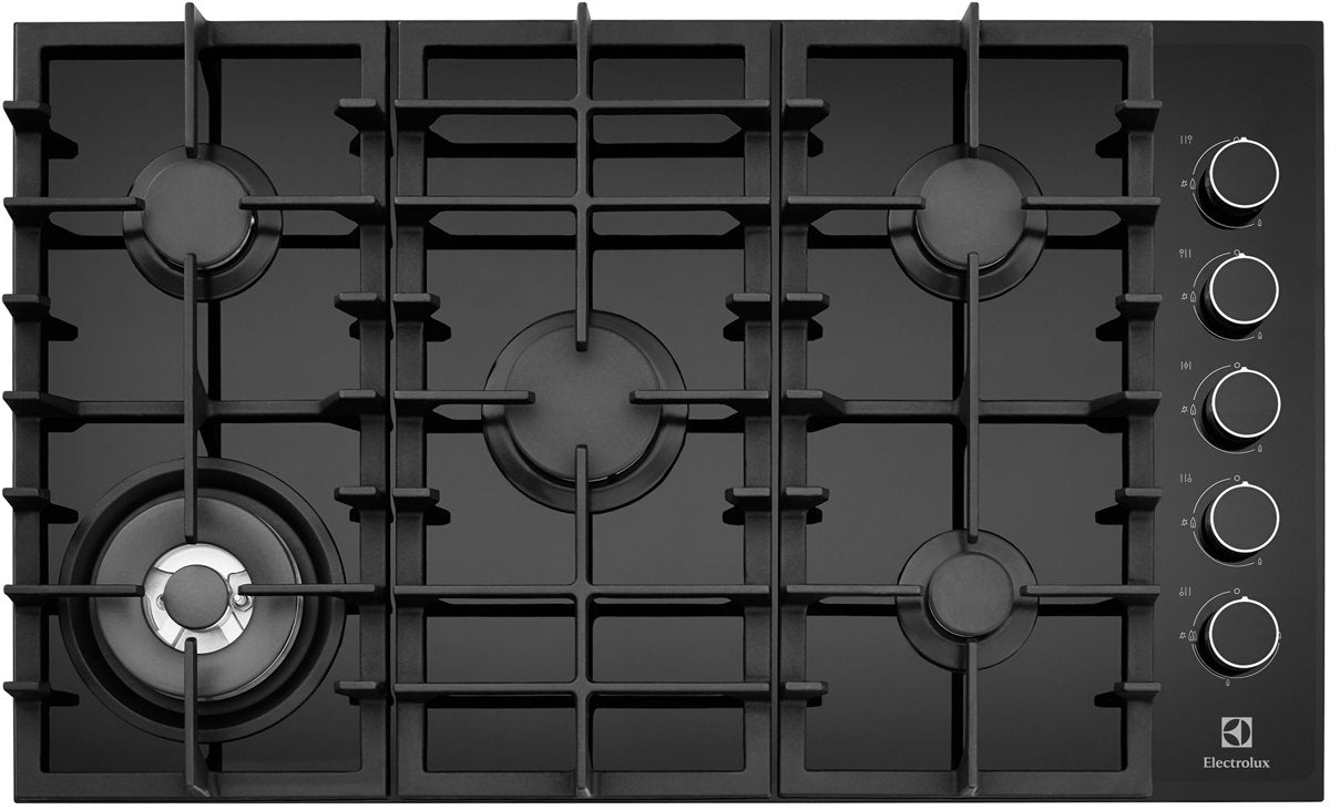 Electrolux EHG953BA 90cm 5 Burner Glass Cooktop